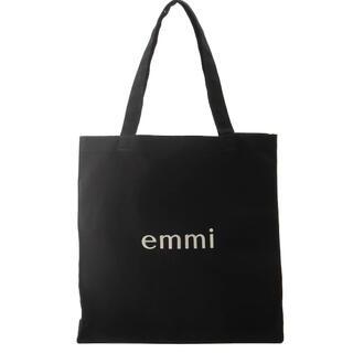 エミアトリエ(emmi atelier)の【emmi】バック ブラック(トートバッグ)