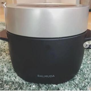 バルミューダ(BALMUDA)のバルミューダ炊飯器 保証来年の9月まであります(炊飯器)