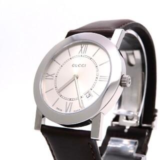 グッチ(Gucci)の【GUCCI】グッチ 時計 '5200M' シルバー文字盤 ☆美品☆(腕時計(アナログ))