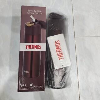 サーモス(THERMOS)の【新品未使用】THERMOS サーモス 水筒 ストローボトル FHL-550(水筒)