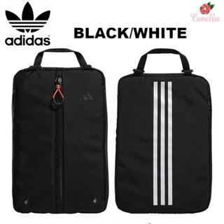 アディダス(adidas)の新品 adidas アディダス ゴルフ シューズバッグ BK/WH(その他)