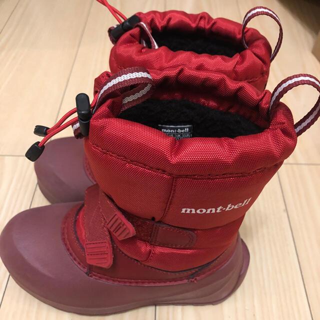モンベル スノーブーツ 19cm キッズ/ベビー/マタニティのキッズ靴/シューズ(15cm~)(ブーツ)の商品写真
