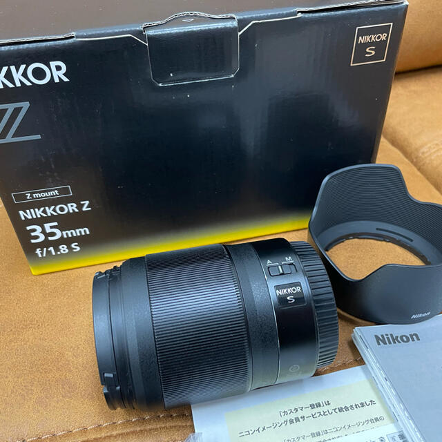 Nikon(ニコン)のNIKON ニコン NIKKOR Z 35mm f/1.8 S スマホ/家電/カメラのカメラ(レンズ(単焦点))の商品写真