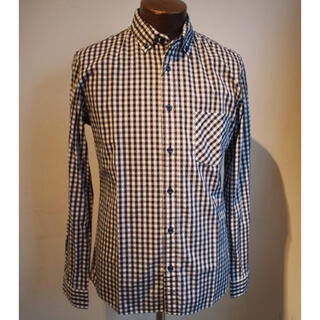 メンズメルローズ(MEN'S MELROSE)のギンガムチェックシャツ メルローズ チェック(シャツ)