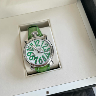 GaGa MILANO - ガガミラノ 腕時計 ユニセックス 革ベルト