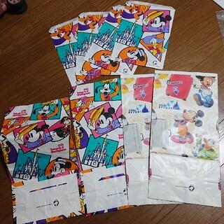 ディズニー(Disney)のディズニーランド 紙袋 ショッパー お土産用 レア マチありタイプ(ショップ袋)
