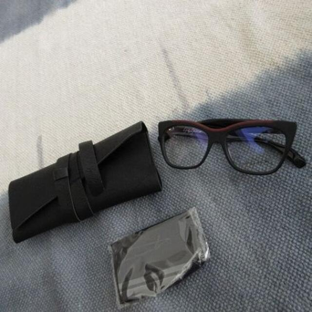 Yohji Yamamoto(ヨウジヤマモト)のYohji Yamamoto ヨウジヤマモト 眼鏡 メガネ メンズのファッション小物(サングラス/メガネ)の商品写真