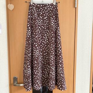 ユナイテッドアローズ(UNITED ARROWS)のロングスカート ※破れあり(ロングスカート)