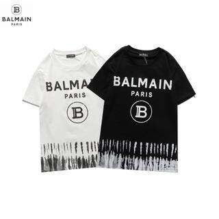 BALMAIN - 送料無料BALMAIN 2枚8000円バルマン丸襟Tシャツ 半袖602