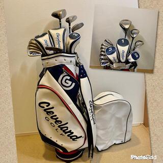 クリーブランドゴルフ(Cleveland Golf)の人気‼️【美品】クリーブランド★ゴルフクラブセット/メンズ 男性 キャディバッグ(クラブ)