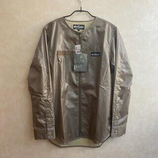 ワイルドシングス(WILDTHINGS)のWILDTHINGS リップストップ ノーカラーシャツ 定価22000円未使用(シャツ)