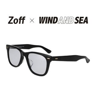 シー(SEA)の新品 Zoff×WIND AND SEAウェリントン型サングラス(サングラス/メガネ)