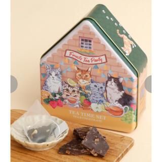 アフタヌーンティー(AfternoonTea)のアフタヌーンティー Cat's NapTime/ハウス型紅茶缶(茶)