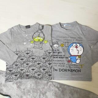 ディズニー(Disney)のドラえもん リトルグリーンメン ロンティ2点(Tシャツ/カットソー)