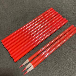 トンボエンピツ(トンボ鉛筆)の赤鉛筆  12本(鉛筆)