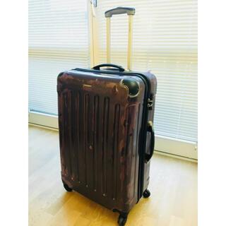 カルバンクライン(Calvin Klein)のCalvin Klein カルバンクライン スーツケース パープル ジャンク(旅行用品)