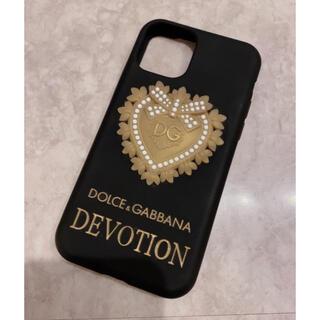 ドルチェアンドガッバーナ(DOLCE&GABBANA)の美品 DOLCE&GABBANA iPhoneケース(11 Pro)(iPhoneケース)