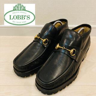 LOBBS - 【made in ITALY】 LOBB'S ホースビットローファー ビブラム製