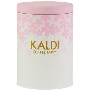 カルディ(KALDI)のカルディ キャニスター缶 カルディ春のキャニスター(容器)