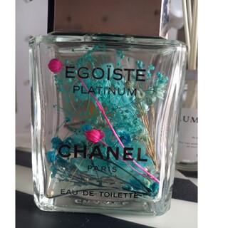 シャネル(CHANEL)のCHANEL 香水瓶 ハーバリウム オイル無し(プリザーブドフラワー)