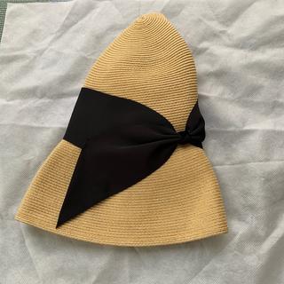ユナイテッドアローズ(UNITED ARROWS)の新品未使用 アシーナニューヨーク 帽子(麦わら帽子/ストローハット)