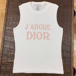 ディオール(Dior)のDior ディオール トロッター ノースリーブ Tシャツ(Tシャツ(半袖/袖なし))