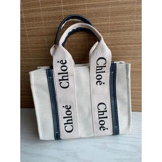 クロエ(Chloe)のCHLOE クロエ トートバッグ ブルー  小(その他)