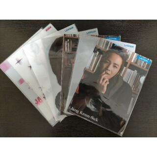 新品 JANG KEUN SUK チャン・グンソク クリアファイル A4 7枚(クリアファイル)