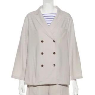 Mila Owen - ミラオーウェン    スコッチボタンダブルシャツジャケット