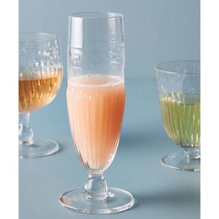 アンソロポロジー(Anthropologie)のアンソロポロジー グラス 4個セット シャンパングラス ワイングラス(グラス/カップ)