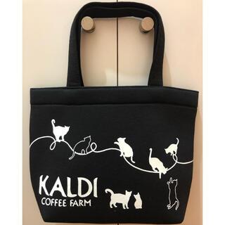 カルディ(KALDI)のカルディ 猫の日バッグ ランチバッグ トートバッグ 猫ちゃん(トートバッグ)