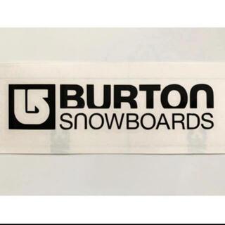 ② BURTON バートン カッティングステッカー ◆W150㎜×H33㎜◆(その他)