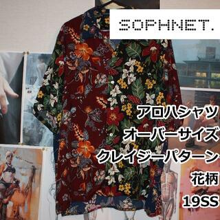 ソフネット(SOPHNET.)のSOPHNET./アロハシャツ/クレイジーパターン/M(シャツ)