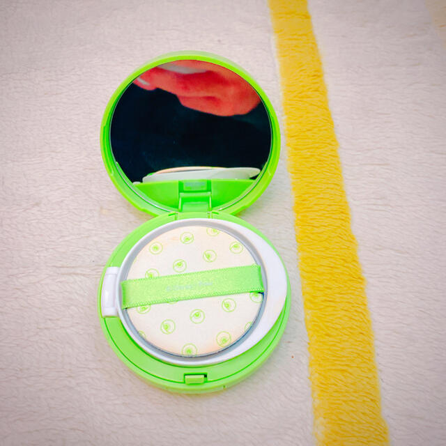 THE FACE SHOP(ザフェイスショップ)のCC ロングレスティング クッション(モンスターズインクマイクver.) コスメ/美容のベースメイク/化粧品(ファンデーション)の商品写真