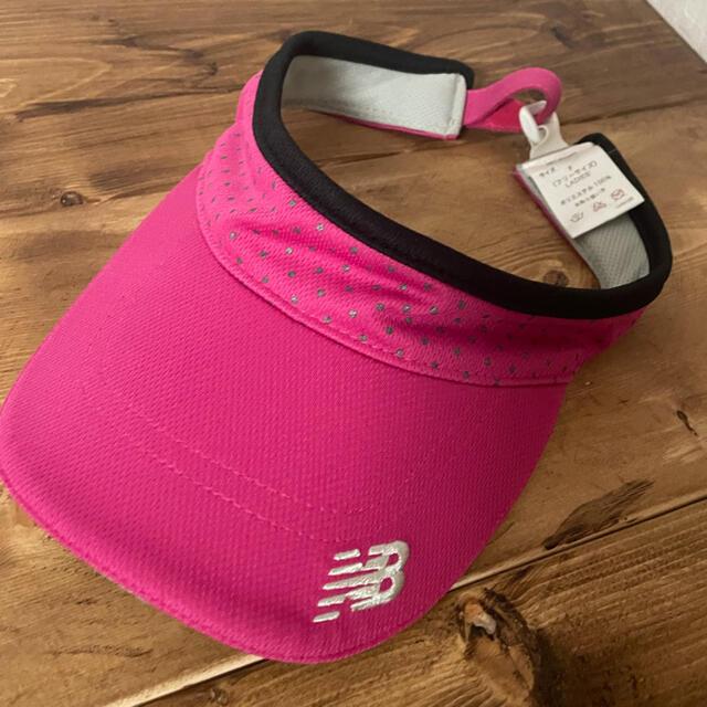 New Balance(ニューバランス)のサンバイザー ニューバランス メンズの帽子(サンバイザー)の商品写真