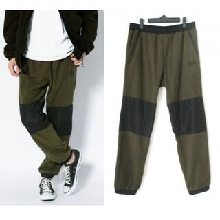 19A/W WIND AND SEA SWITCH FLEECE PANTS M(その他)