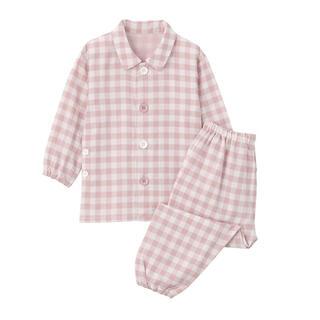 ムジルシリョウヒン(MUJI (無印良品))の新品 無印良品 脇に縫い目のない 二重ガーゼ お着替えパジャマ(パジャマ)