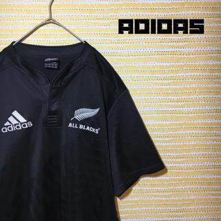 アディダス(adidas)のアディダス オールブラックス O ラグビー ウェア ユニフォーム シャツ(ラグビー)