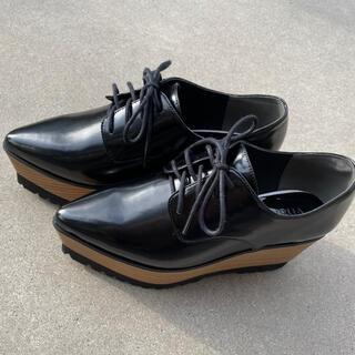 ムルーア(MURUA)のMURUA/レースアップウッドローファー(ローファー/革靴)