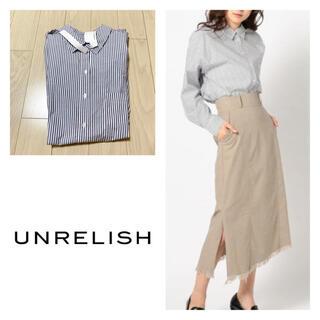 アンレリッシュ(UNRELISH)の新品 アンレリッシュ シャンブレーシャツ(シャツ/ブラウス(長袖/七分))