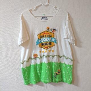 ラフ(rough)のrough ソーダ スイミング ワッペン Tシャツ(Tシャツ(半袖/袖なし))
