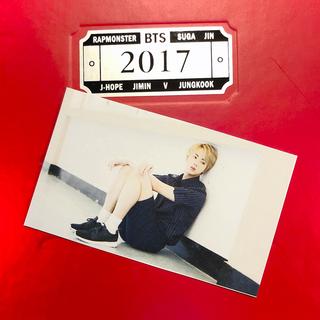 ボウダンショウネンダン(防弾少年団(BTS))のBTS✨購入特典✨ミニトレカカード✨シーグリ2017 韓国版version(アイドルグッズ)