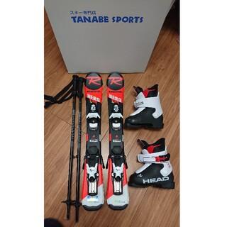 ロシニョール(ROSSIGNOL)のロシニョール スキーセット 板 70cm ストック  70cm ブーツ 16.5(板)