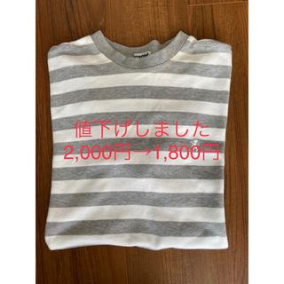 GYMPHLEX - Gymplex 半袖ボーダーTシャツ Lサイズ