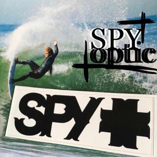 ヴァンズ(VANS)のSPYスパイオプティックUS限定ハードコアゴシックロゴバナー ステッカー(サーフィン)