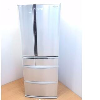 Panasonic - 冷蔵庫 パナソニック エコナビ 省エネ フレンチドア シルキーシルバー