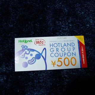 ◆築地銀だこ・ホットランド 株主優待券 1000円分 Q-2 (フード/ドリンク券)
