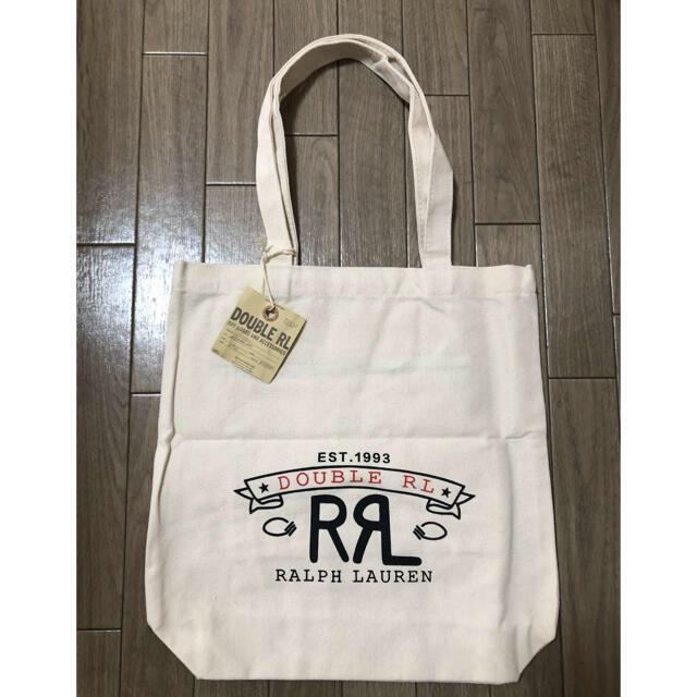 RRL(ダブルアールエル)のRRL キャンバストートバッグ タグ付き新品 メンズのバッグ(トートバッグ)の商品写真