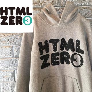 エイチティーエムエル(html)の【美品】エイチティーエムエル HTML ZERO3 スウェット パーカー M(パーカー)