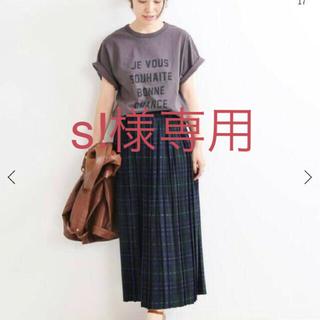 イエナ(IENA)のイエナオゾン加工ロゴTシャツ(Tシャツ(半袖/袖なし))